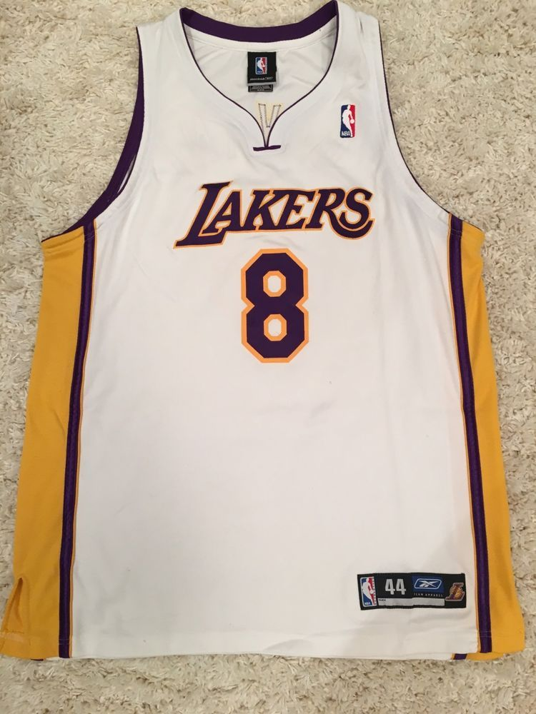Kobe Bryant Los Angeles LA Lakers authentic NBA Reebok Jersey Size 44 (eBay  Link) 553309973