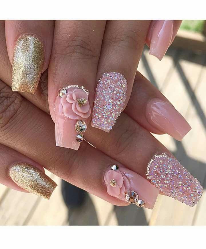Pin de Ruth Soto en Nails   Pinterest   Diseños de uñas, Uñas ...