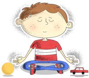 Resultado de imagen de yoga niños dibujo