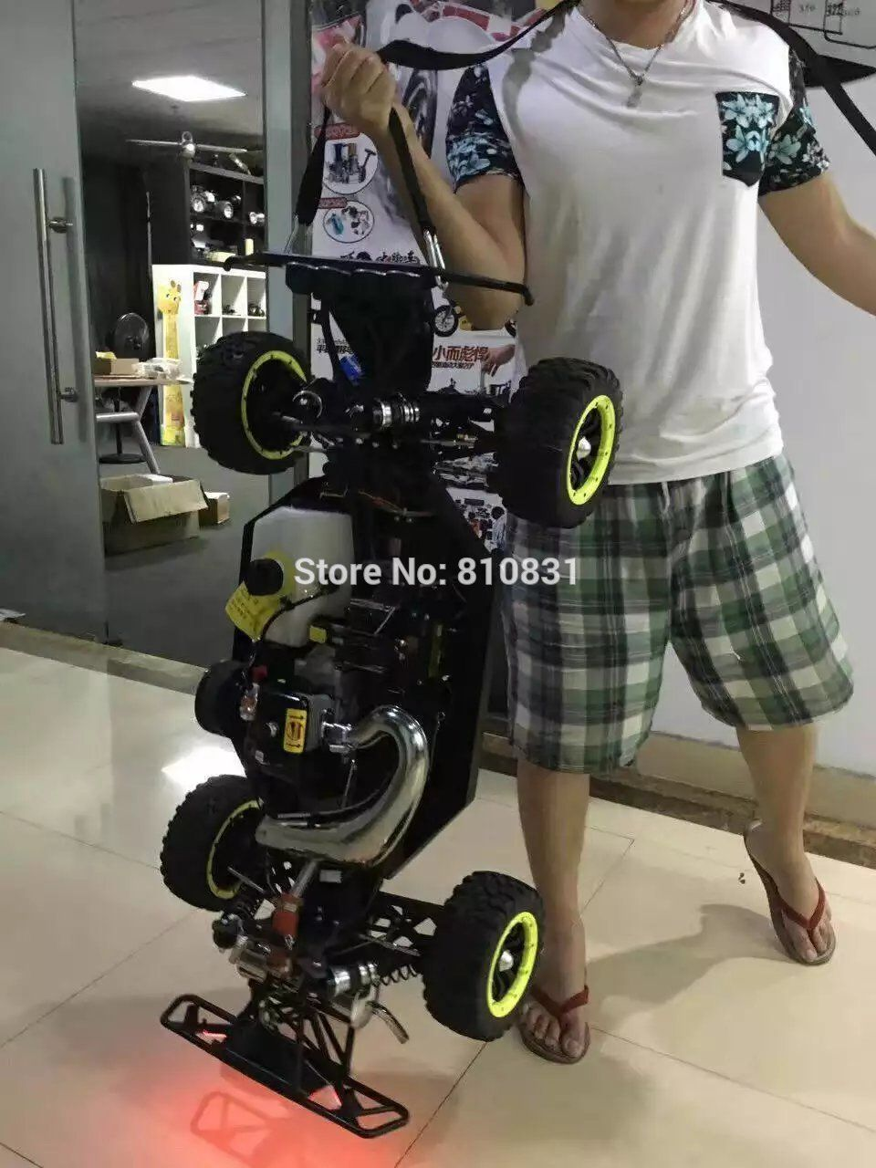 Ddt 1 5 Two Strokes Gasoline Rc Car Off Road Vehicles Monster