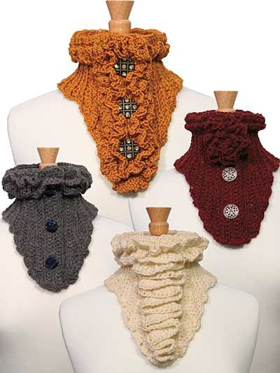 Button Up Scarves Crochet Pattern | ! NXT | Pinterest | Schals ...