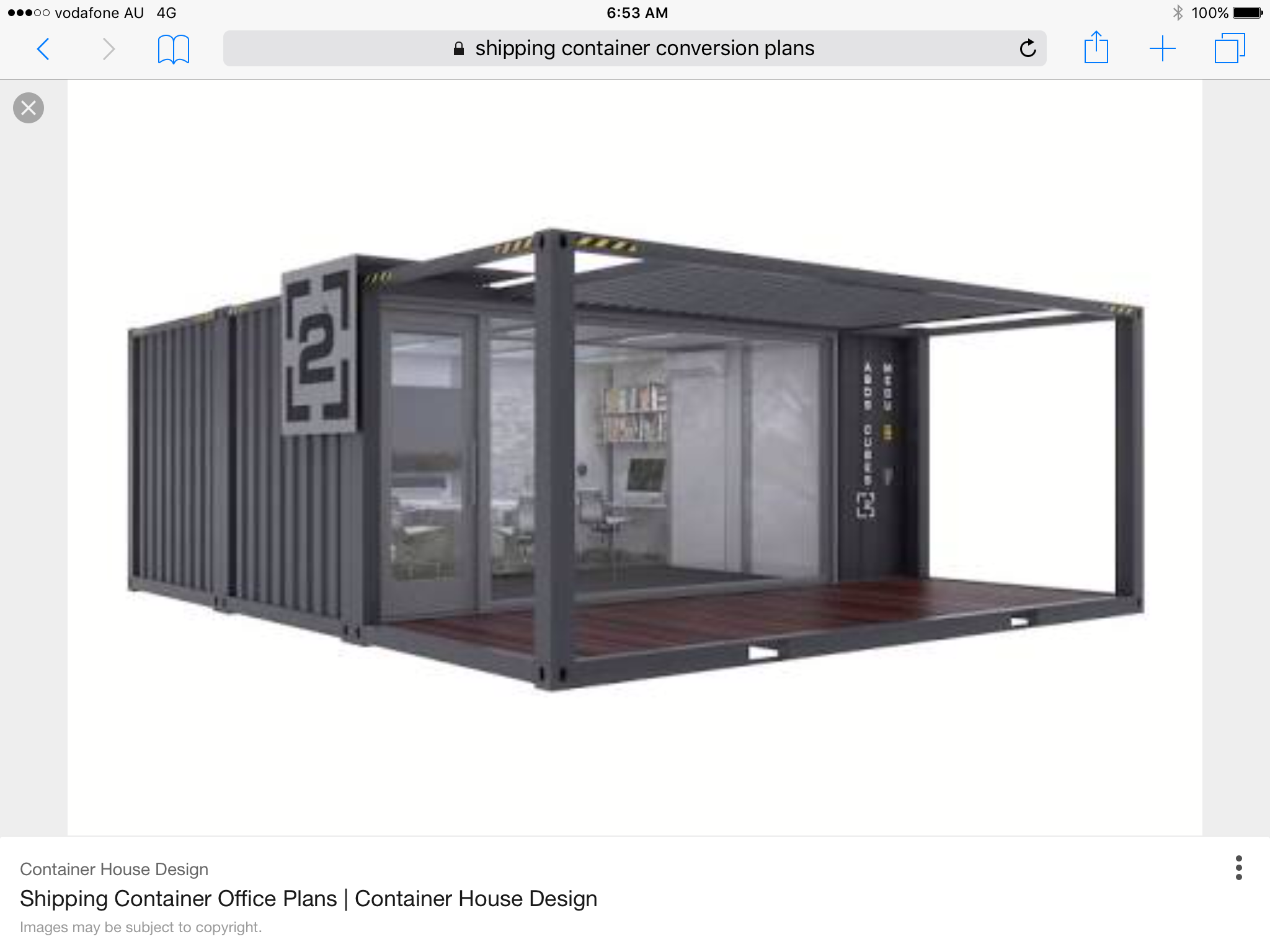 Container Aliner Campers Offices Ping Wood Hands