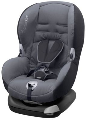 The Maxi-Cosi Priori XP Child Car Seat has an adjustable harness to ensure your child has room to grow from 9 months to approximately 4 years.