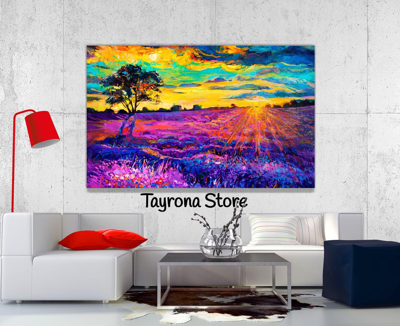 Cuadros Decorativos Pintura-Atardecer-01 #tayronastore,#cuadros ...