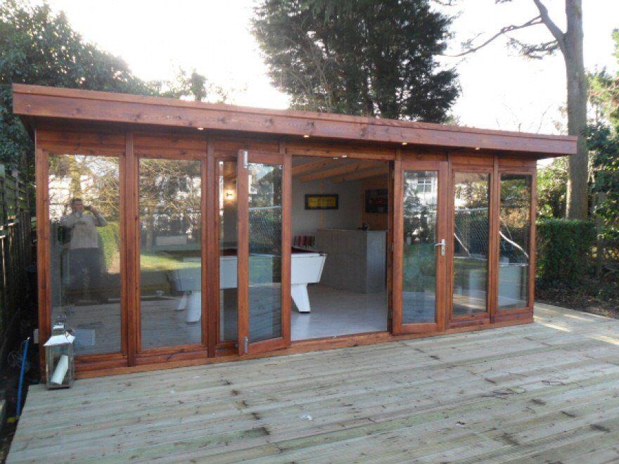 gym, outdoor games room - bakers timber buildings   garden ideas
