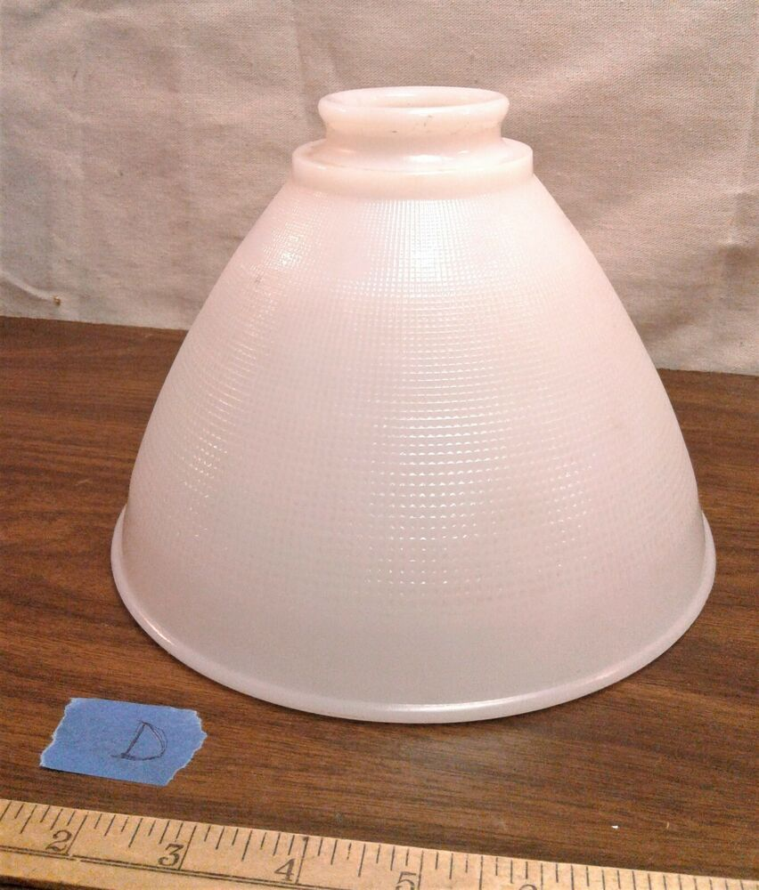 Antique White Milk Glass Torchiere Lamp Shade 8 Waffle Pattern Allegheny 1930s In 2020 White Milk Glass Torchiere Lamp Shade Torchiere Lamp