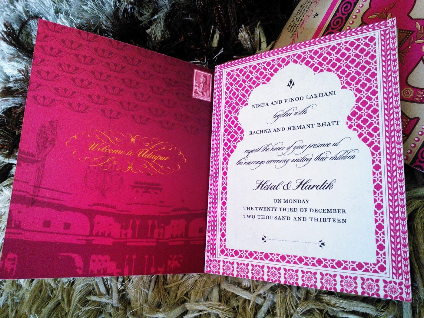 A compilation of custom, high-end event stationery with a focus on ...
