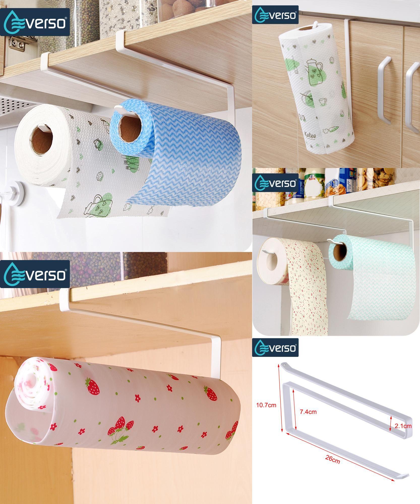 Bathroom accessories bathroom fittings towel racks toilet brush -  Visit To Buy Practical Kitchen Toilet Paper Towel Rack Paper Towel Roll Holder Cabinet