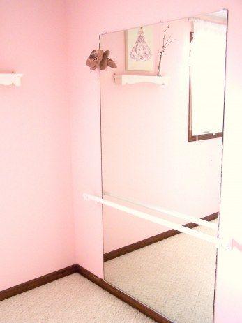 Little Girlu0027s Room   Ballet Barre