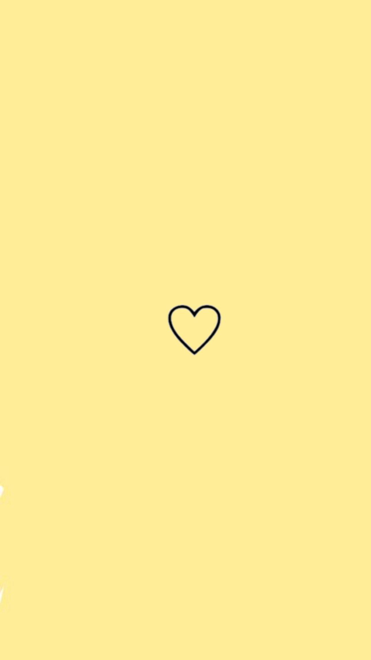 Yellow Aesthetic Heart Iphone Wallpaper Yellow Yellow Aesthetic Purple Wallpaper Iphone