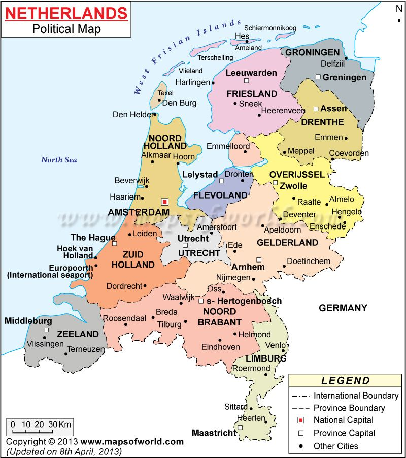 map of netherlands with cities Google Search MAPS Pinterest