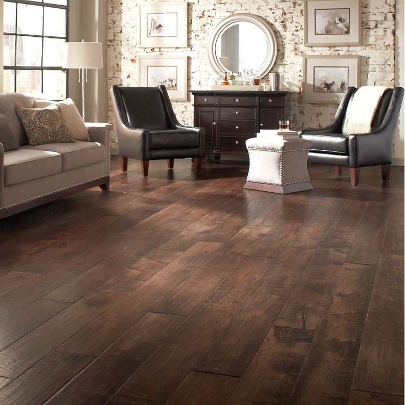 Johnson Hardwood English Pub 7 1 2 Engineered Maple Hardwood Flooring In Whiskey Hardwood Floor Colors Maple Wood Flooring Engineered Hardwood Flooring