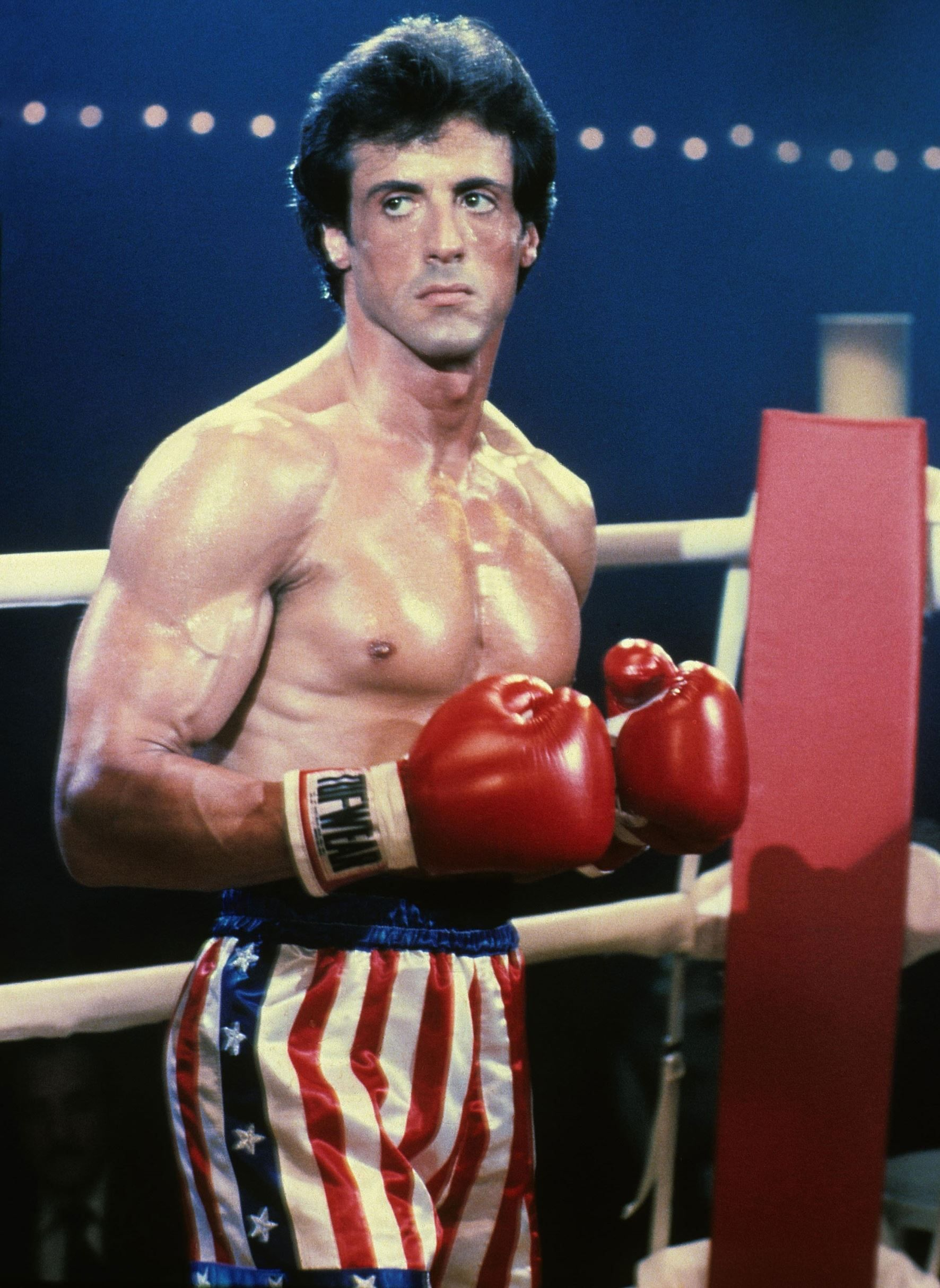 Sylvester Stallone Posts Rare Shot of Rocky Deleted Scene ...