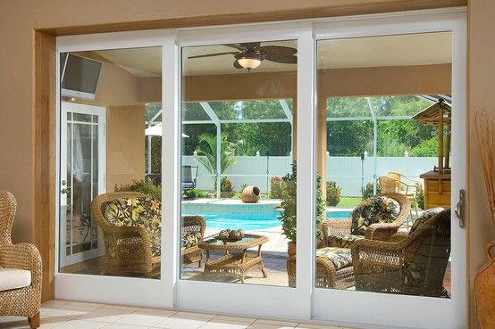 Pgt Industries Sliding Glass Door Sliding Doors Pool House Plans