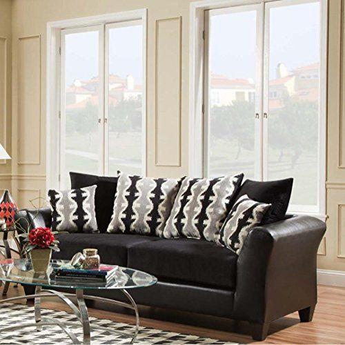 Best Sofa Trendz Dayton Black Sofa Chelsea Home Furniture Furniture Living Room Furniture Sofas 400 x 300