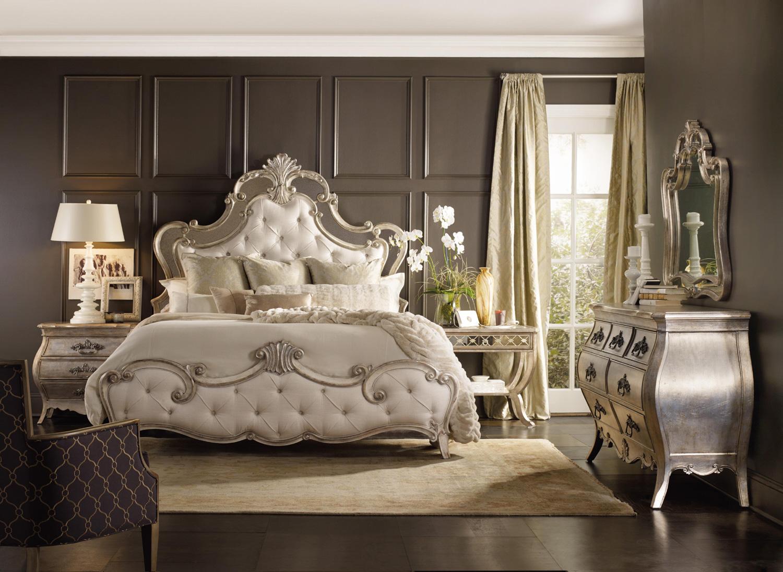 Sanctuary Bardot King Upholstered Bed | Hooker Furniture | Home ...