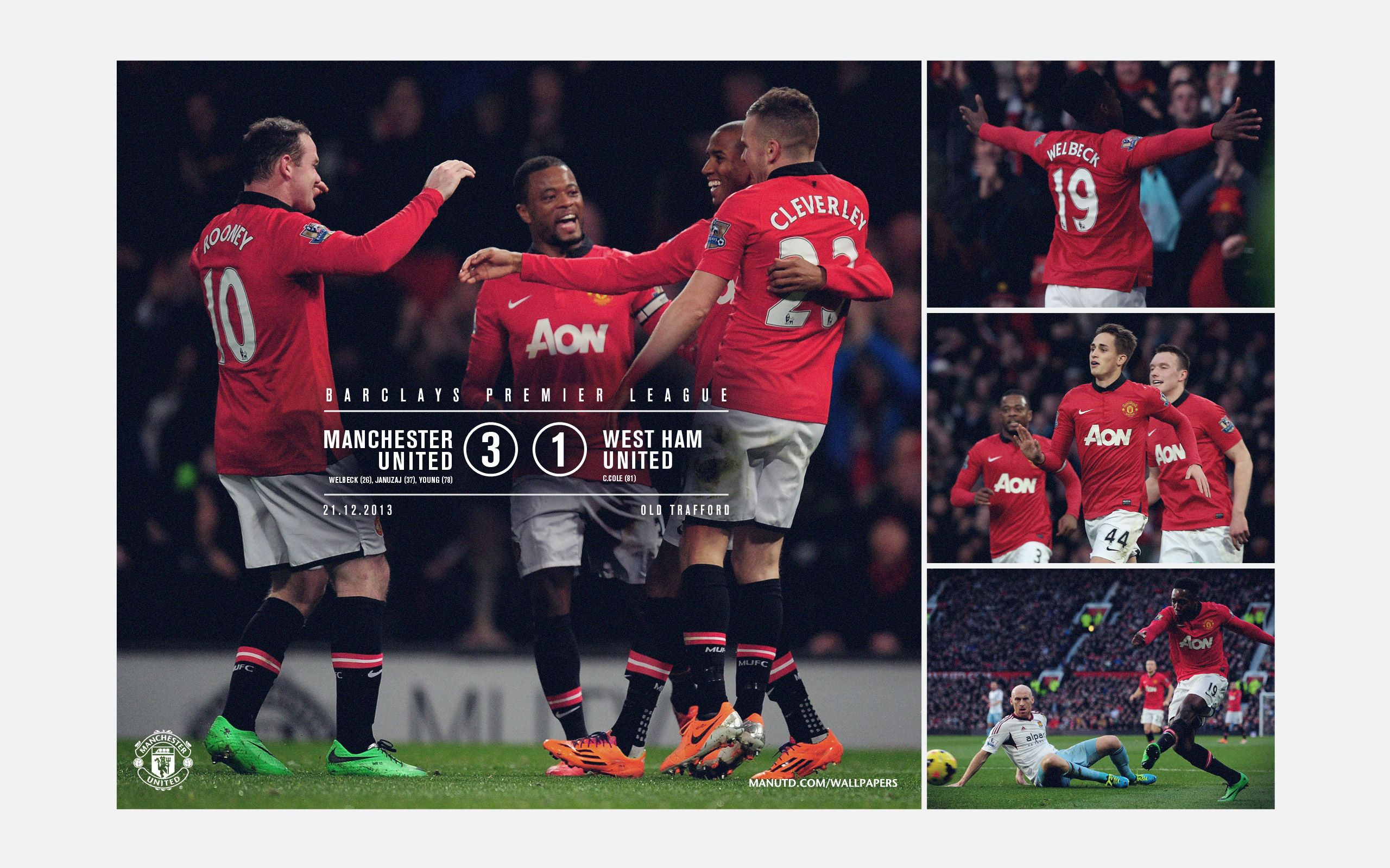 United 3 West Ham 1 Official Manchester United Website Manchester United Manchester