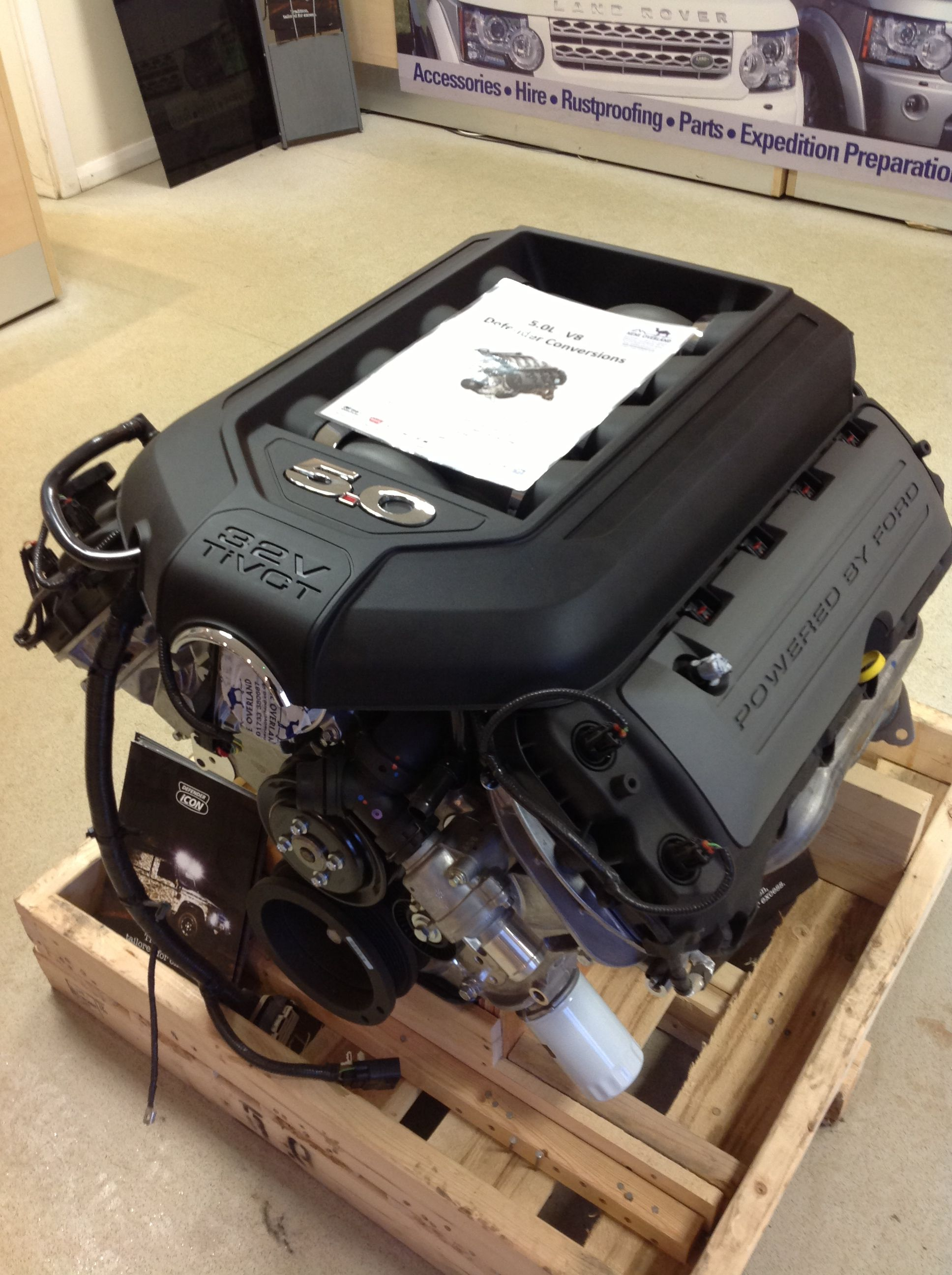 Defender 5 0 V8 engine conversion  | 4X4 Land Rovers and all