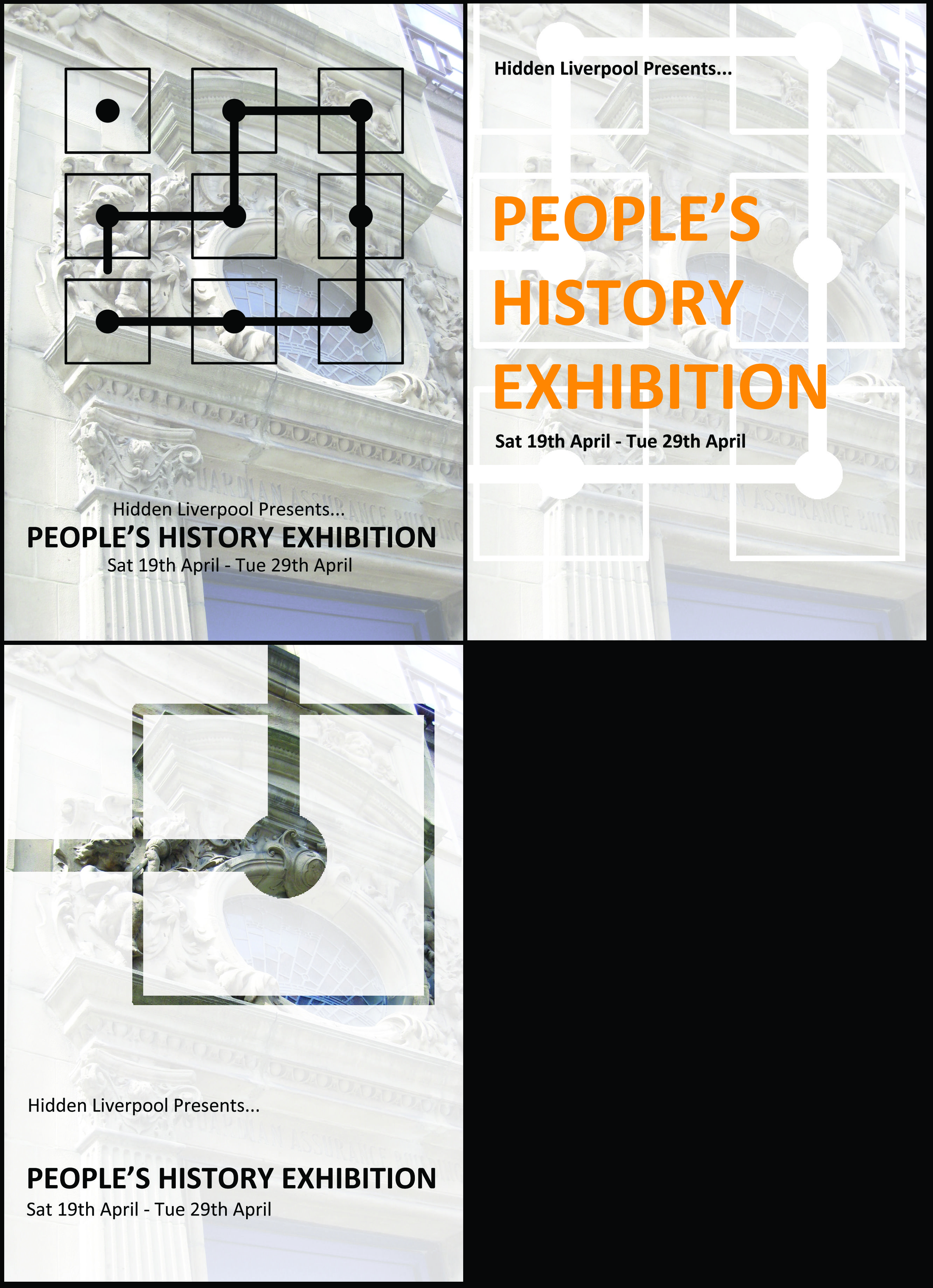 and a bit more History exhibition, Exhibition space