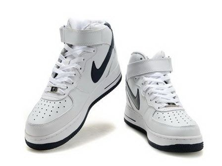 Buy Nike Air Force 1 07 Mid Players Edition White Midnight Navy Sneakers  with best discount.All Nike Air Force 2014 shoes save up.