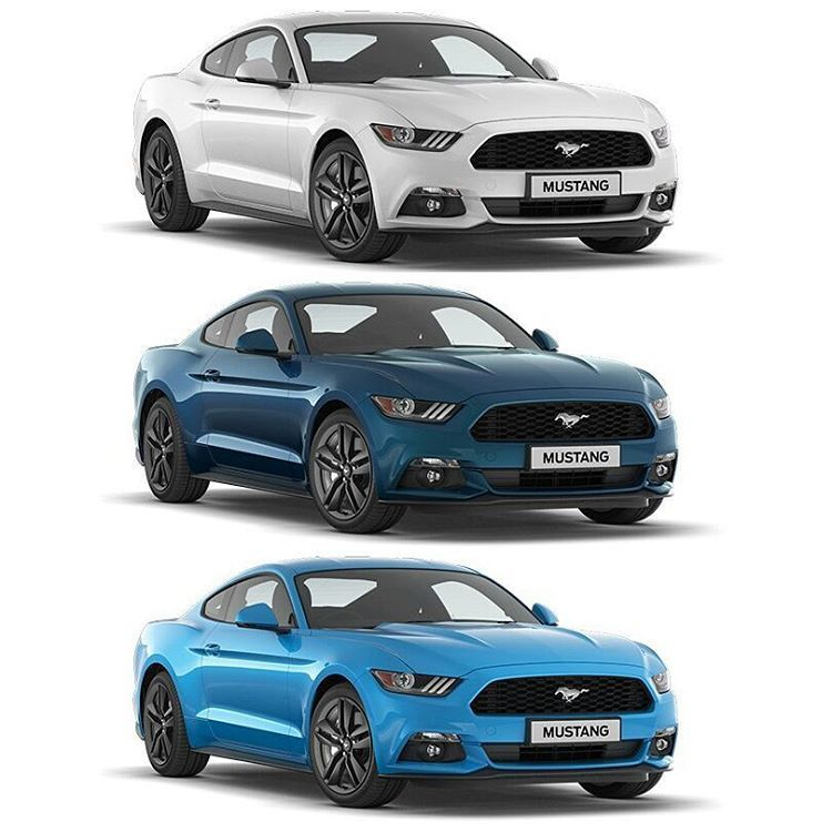 Looks Like The Mustang Will Get Three New Colors White Platinum