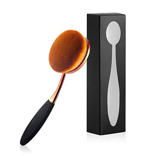Yoseng Oval Foundation Brush Large Toothbrush