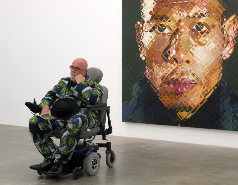 tryharder chuck close i of ii art chuck close art