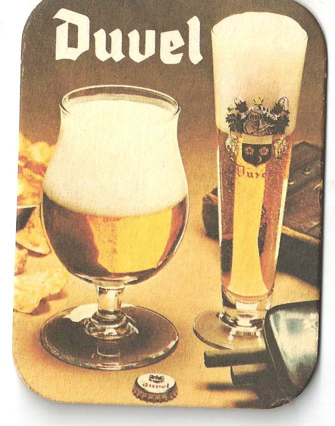 Duvel Vintage 70s Beer Mat #beer #coaster