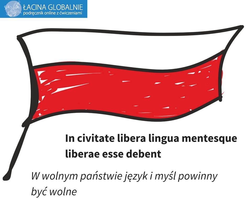 #wolność #niepodległość #11listopada http://lacina.globalnie.com.pl/sentencje-lacinskie/