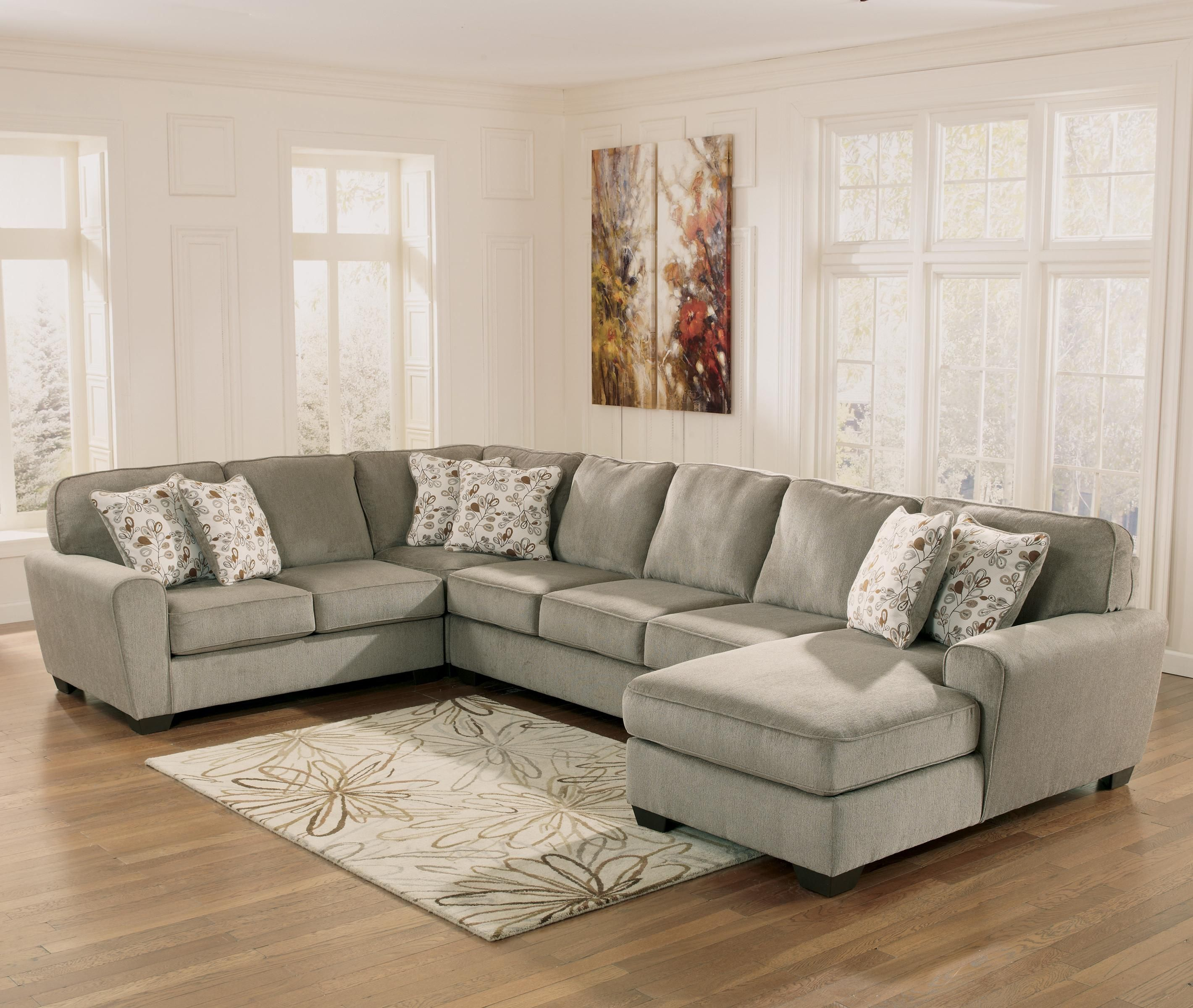 Patola Park - Patina 4-Piece Sectional with Right Chaise by Ashley Furniture jj : in a chaise and four - Sectionals, Sofas & Couches