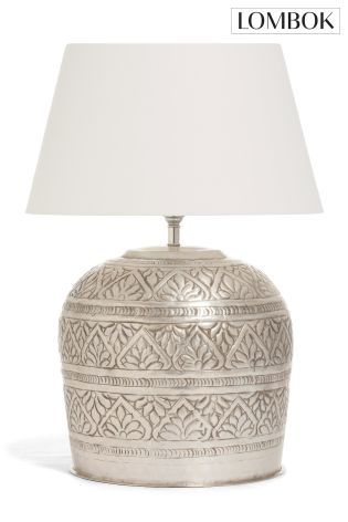 Lombok flora table lamp