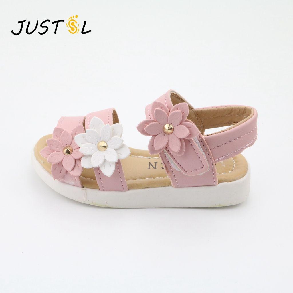 db311e0945 comprar Justsl zapatos para niños 2017 zapatos de los nuevos niños del  verano flor encantadora zapatos de moda sandalias de la muchacha zapatos  mágicos