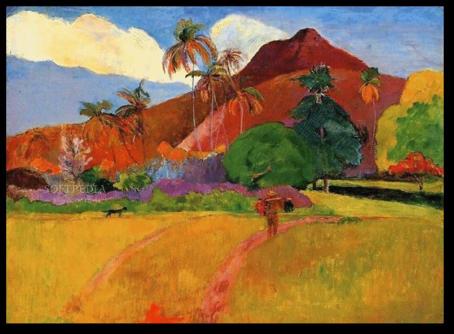 Paul Gauguin Tahitian Landscape Extra Large Art Poster