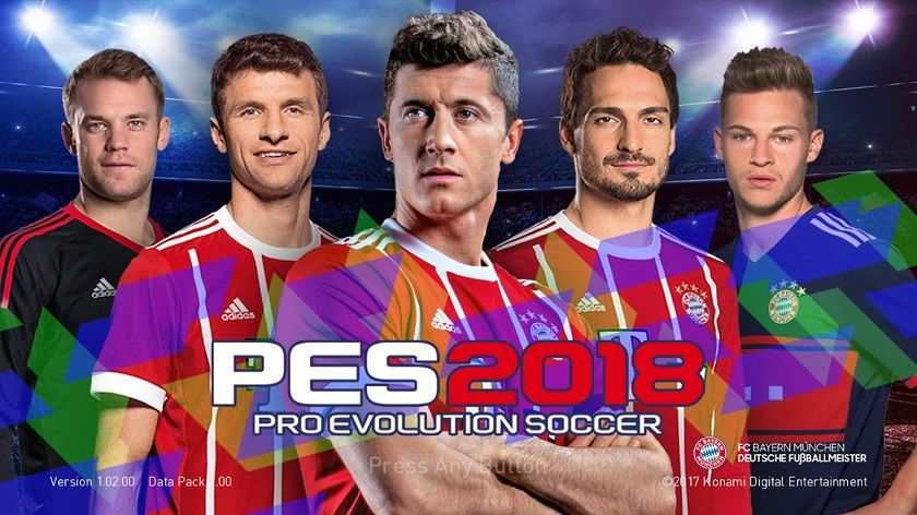 PES Mobile 2018 Mod Bayern Munchen Apk Data Download | Cell