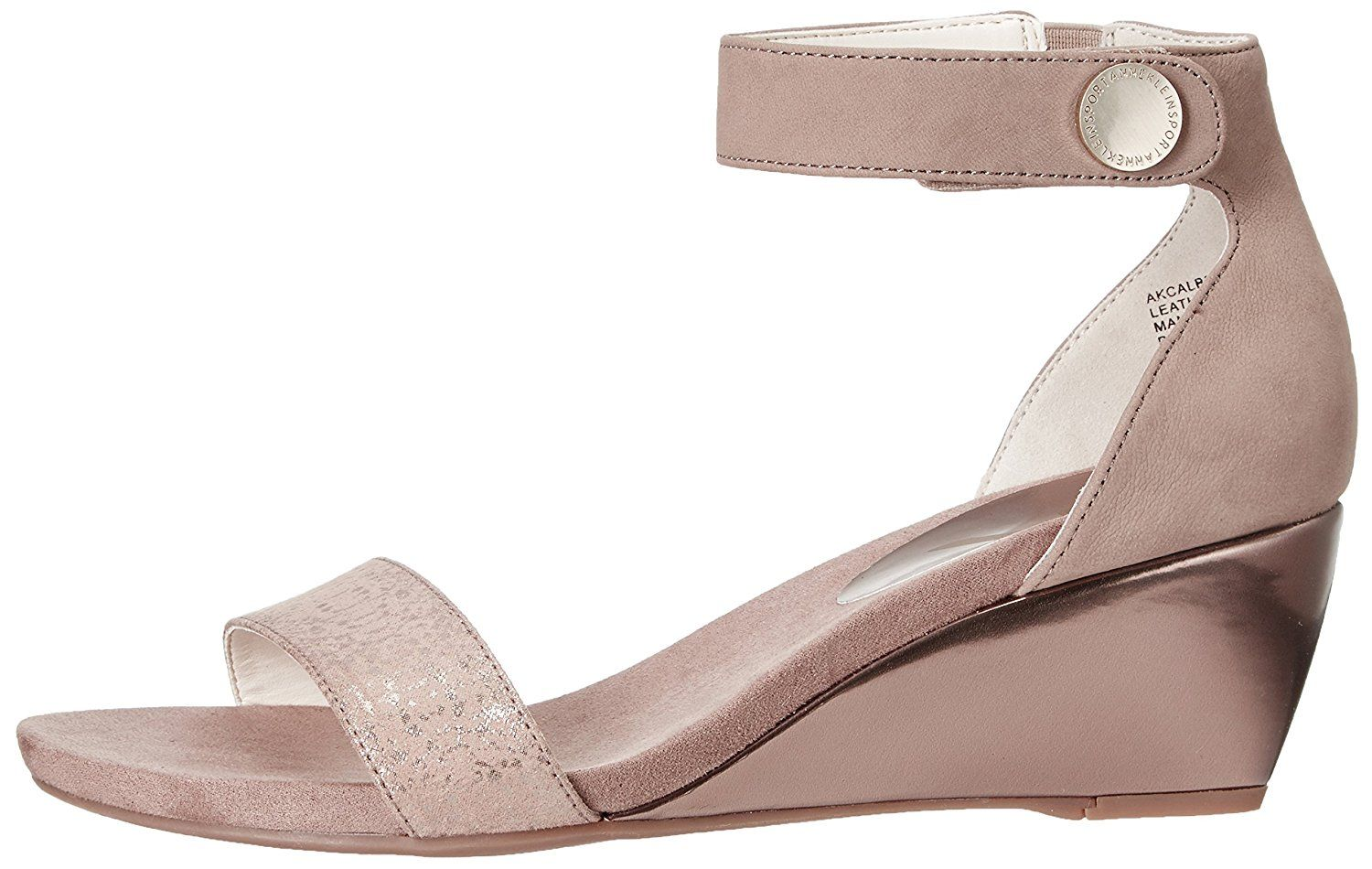 6b32329591 AK Anne Klein Sport Women's Calbert Wedge Sandal >>> Continue to the  product at the image link. (This is an affiliate link) #shoelover