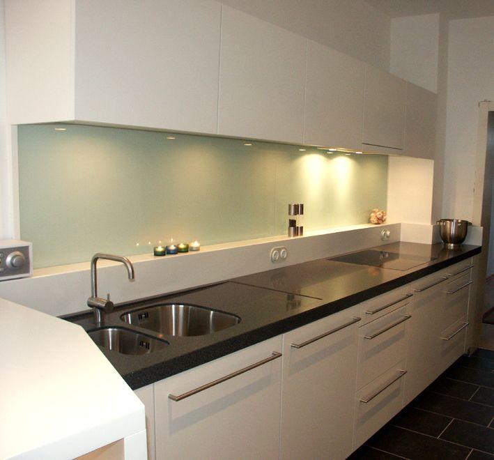 Küche Mit Corian Arbeitsplatte