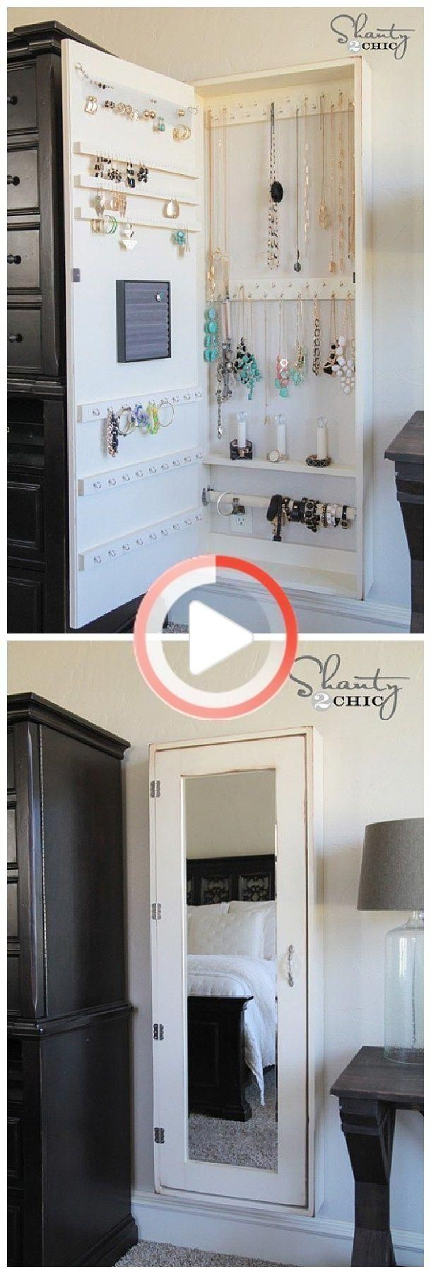 Photo of DIY Bathroom Organization Ideas – DIY Jewelry Cabinet and Feet Organizer …… …