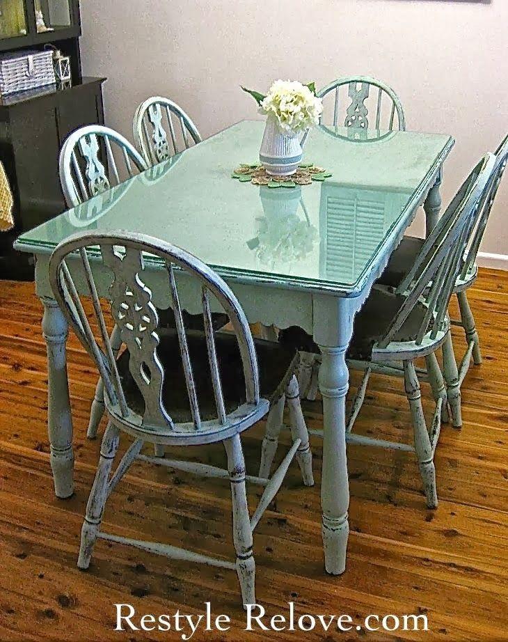 Mesas de comedor de colores · Colorful dining tables | DIY & Crafts ...