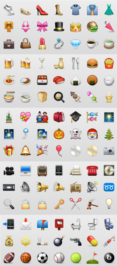 Emoji Keyboard on iOS 5   business marketing Social Media in