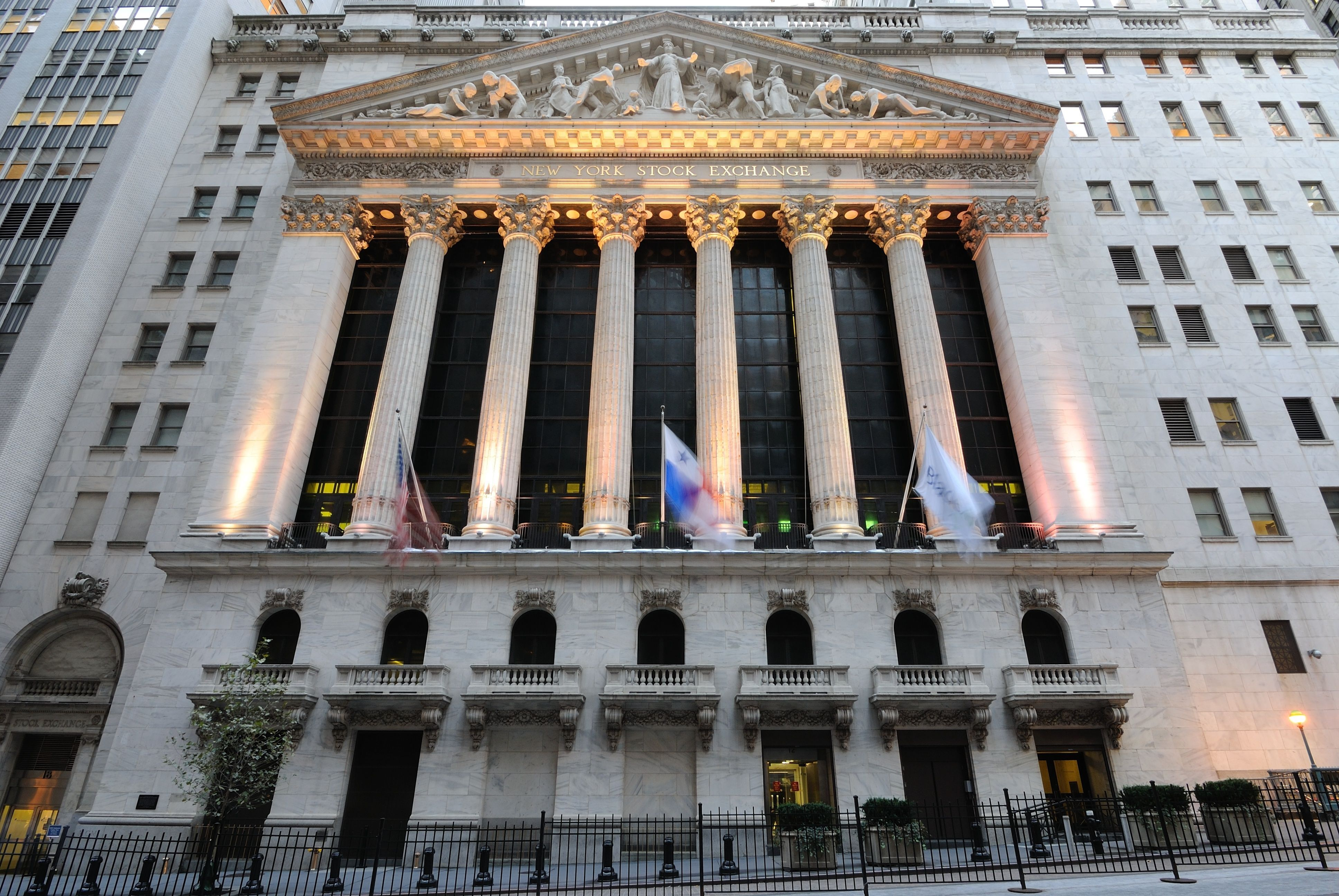 The New York Stock Exchange Building was one of the first