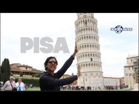 Italia Alan Por El Mundo Youtube Pisa Italia Torres