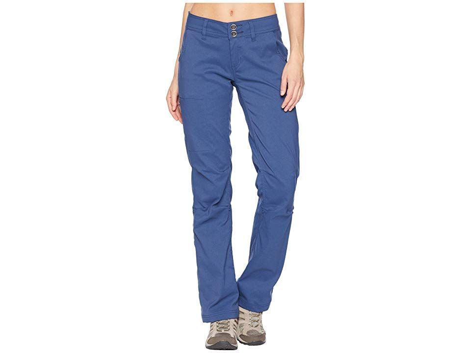 Prana Halle Pant Equinox Blue Womens Casual Pants For a crossfunctional durable pant perfect for the trails or bouldering look no further than the Halle Relaxed fit drape...