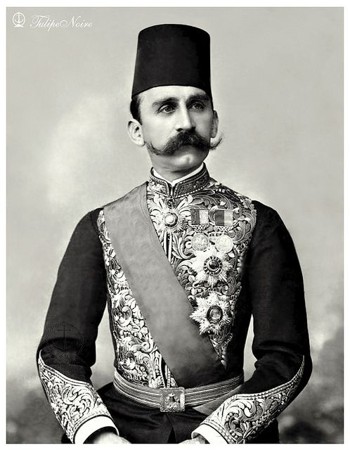 H.M. Sultan Hussein Kamel (1853 - 1917) | Egypt, Mustache, Old egypt