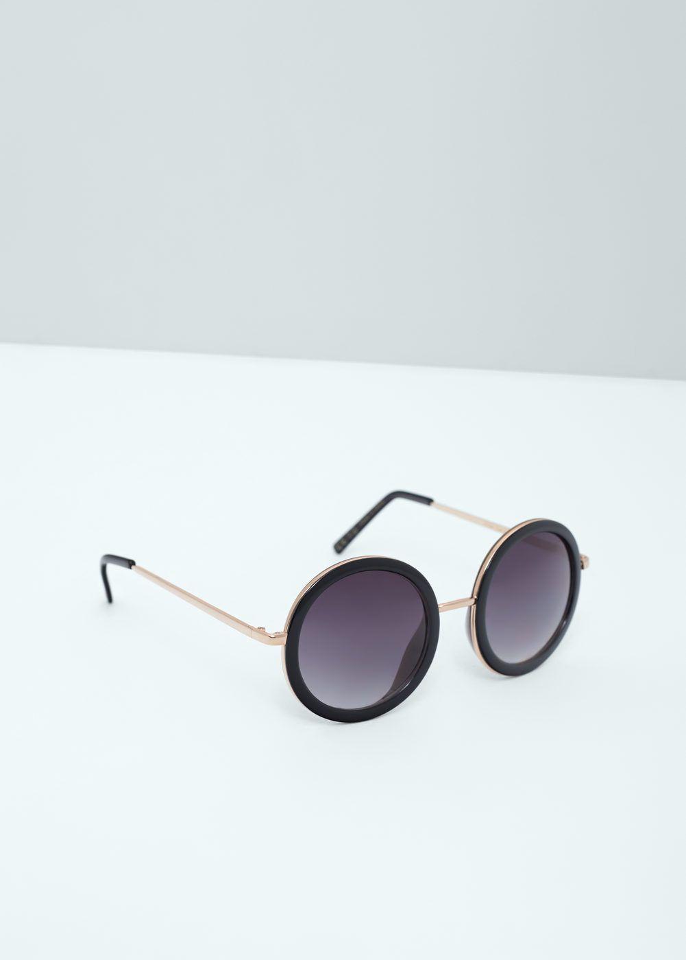 lunettes de soleil rondes lunettes de soleil pour femme mango france t 2016 pinterest. Black Bedroom Furniture Sets. Home Design Ideas