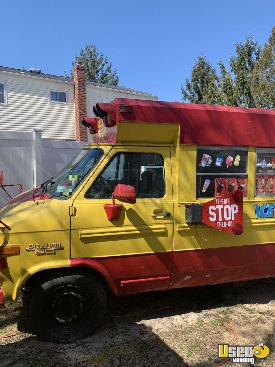 Chevy ice cream truck gelato truck for sale in new york
