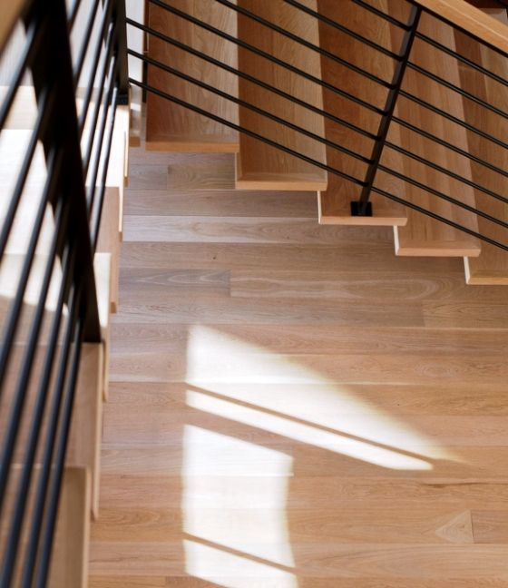 Best White Oak Custom Stair Treads Are A Perfect Match With 400 x 300