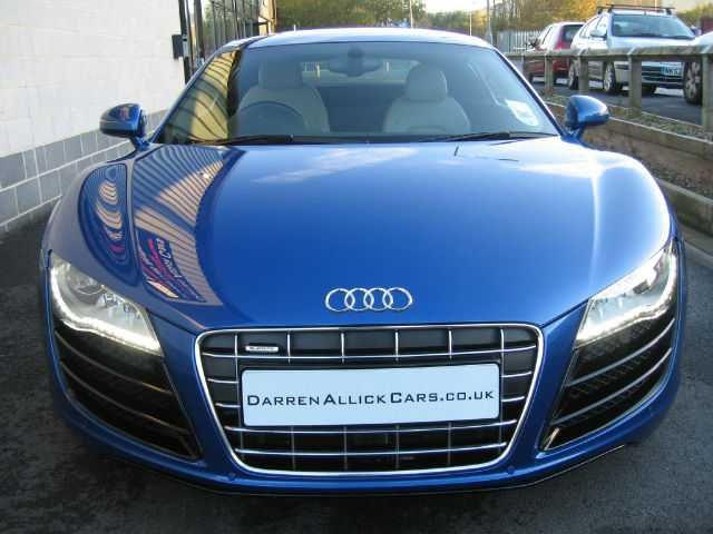 Audi R8 5.2 V10 QUATTRO - HIGH SPEC Coupe Petrol Sepang Blue Pearl Effect
