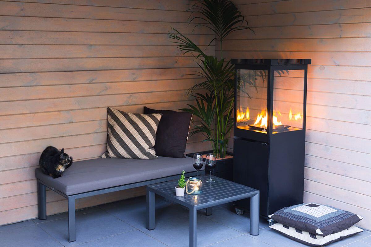 Sunwood Marino buitenhaard | Buitenhaard, Tuintafels, Tuinhaard