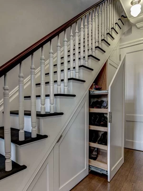 17 Clever Uses For The Space Under The Stairs With Images