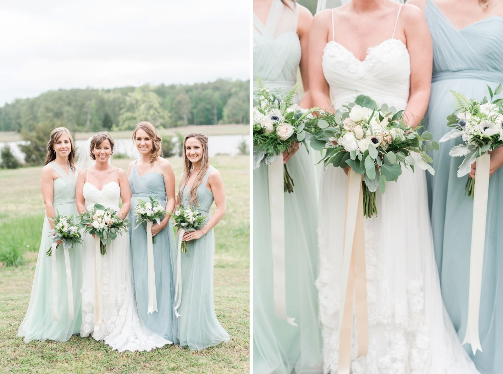 Blue And Green Jenny Yoo Bridesmaids Dresses Virginiabeach - Wedding Dresses Virginia Beach